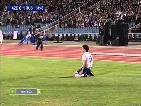 Azerbaijan - Russia 1:1 (WCQ 2010) Full Match