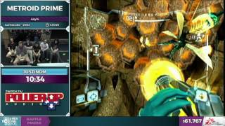 Metroid Prime by JustinDM in 1:20:56 - SGDQ2016 - Part 8