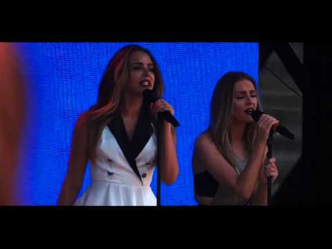 Little Mix at the Billboard Hot 100 Music Festival