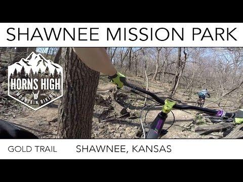 SHAWNEE MISSION PARK | GOLD TRAIL | VIRGIN RIDE