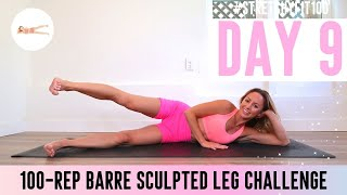 GET SCULPTED LEGS & THIGHS IN 30 DAYS CHALLENGE! Day 9: 100 Jazzed Unicorns 🦄 #StretchyFit100