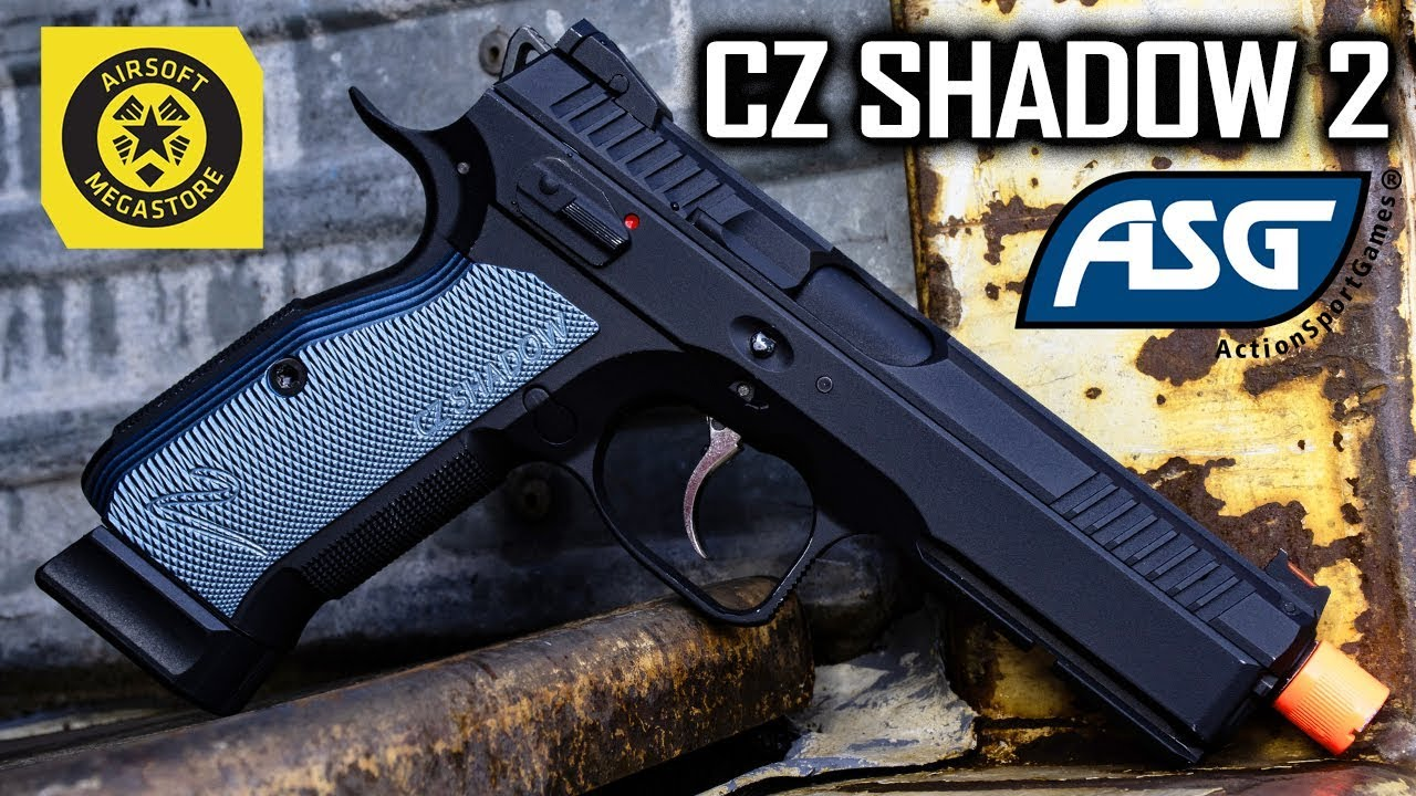 In the Shadows    | The ASG CZ Shadow 2!!! | COMING SOON Airsoft Megastore