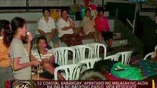 24Oras: 12 coastal barangay sa Oroquieta City, Misamis Occidental, apektado ng malalaking alon