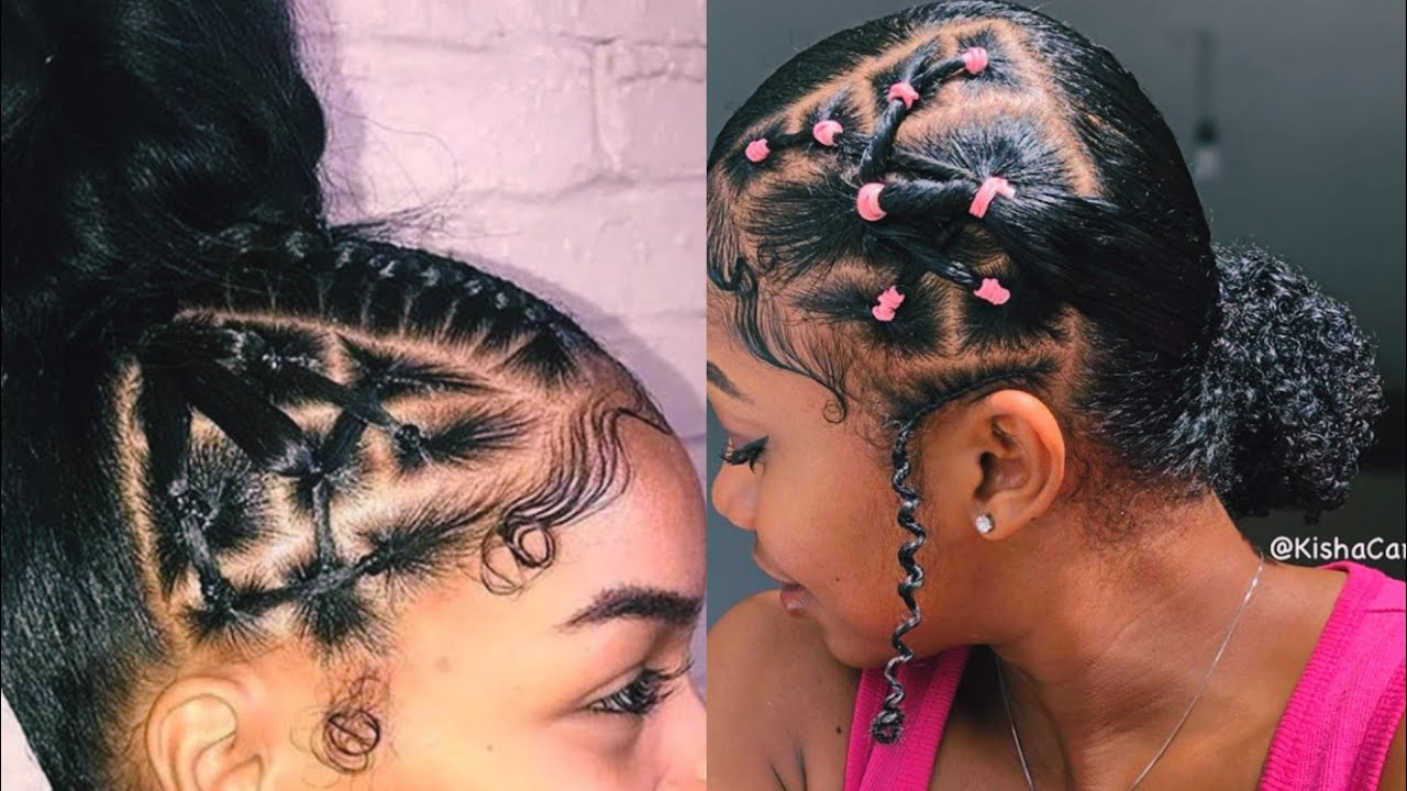 Rubberband Hairstyles Youtube