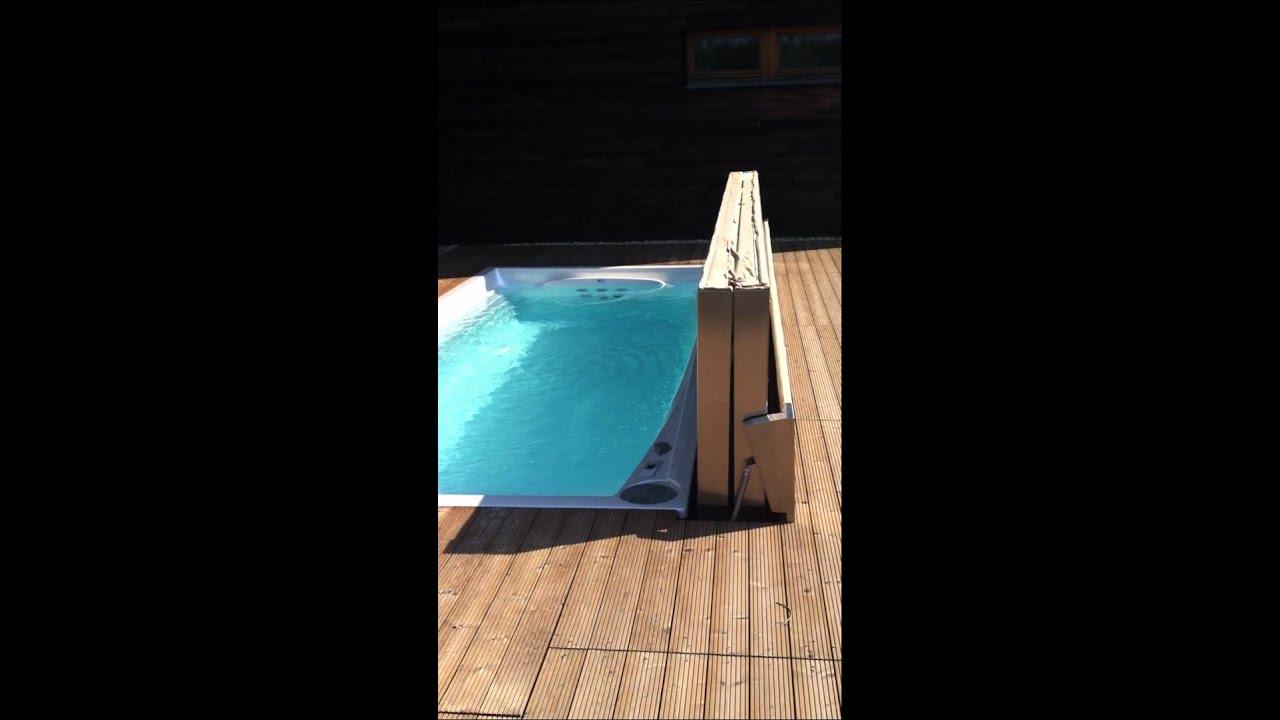 Swim spa automatische abdeckung