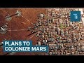 Watch Elon Musk reveal SpaceX's most detailed plans to colonize Mars