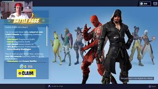 How To Redeem Your Free Season 8 Battle Pass (Fortnite: Battle Royal)