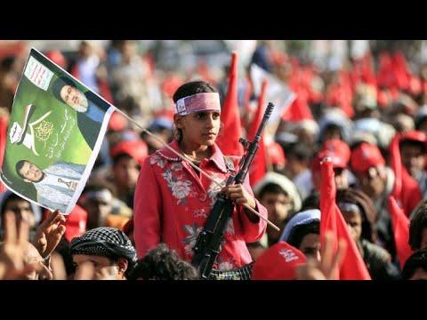 Yemen: Huthi rebels mark Sanaa takeover and Ashura
