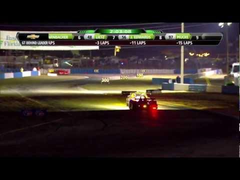 2013 Sebring Broadcast [Part 4] - ALMS - Tequila Patron - Sports Cars - Racing - John Hindhaugh