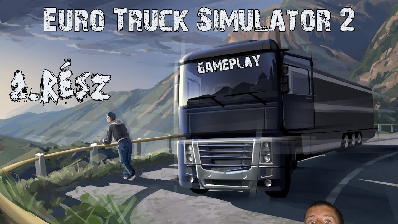 euro truck sim 2 gameplay benzin sz ll t s youtube. Black Bedroom Furniture Sets. Home Design Ideas