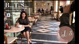 BTS w/ a PRO MUA | Vol. 8 | KTNV NEWS REPORTER SHOOT