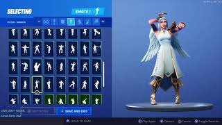 OVER 100 EMOTES WITH THE ARK SKIN!!! | Fortnite