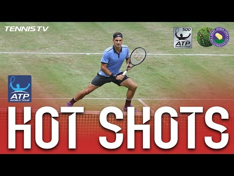 Federer Has All Bases Covered In Halle Hot Shot