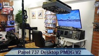 Panel 737 Desktop PMDG plug and play V2 / Part 1 assembling