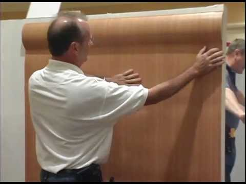 Self Adhesive Wall Paper how to install self adhesive wallpaper - youtube