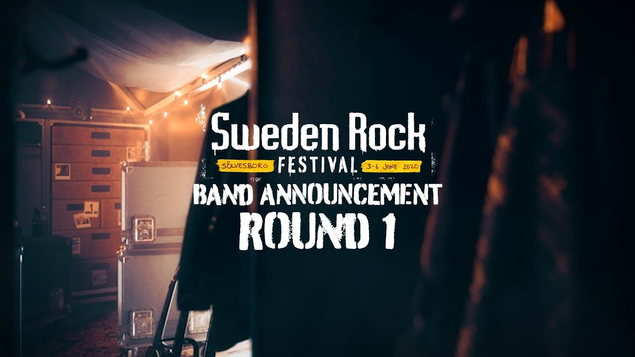 The Festival 2020.Sweden Rock Festival 2020 Band Announcement Round 1
