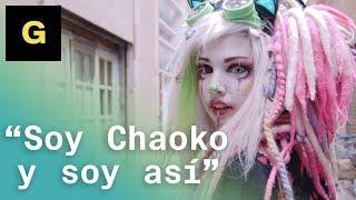"""""""No llevo ningún disfraz. No soy ningún personaje. Soy Chaoko y soy así siempre""""."""