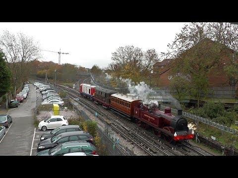 The Underground Train Powered By Steam Electric & Diesel Locomotives!