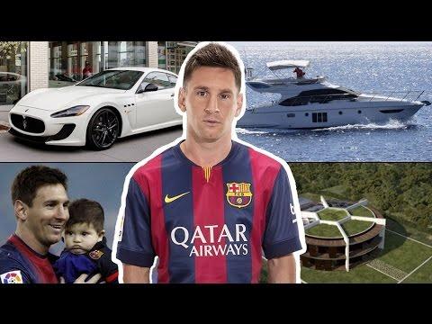 Lionel Messi ★ Evi ★ Arabaları ★ Ailesi ★ Yatı ★