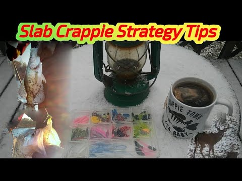 """""""Crappie Strategy Tips""""  SLAB CRAPPIES (VLOG: Fishing & Wildlife) Crappie Town USA Baby"""