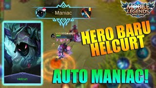 Video NEW HERO HELCURT - Gila Hero Assassin Baru OP Banget! Auto maniac (Mobile Legends Indonesia) download MP3, 3GP, MP4, WEBM, AVI, FLV Desember 2017