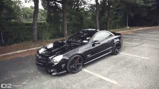 Mercedes SL 63 AMG | D2Forged CV2 Wheels