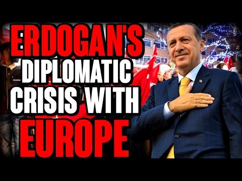 Erdogan's diplomatic crisis with Europe | The Millennial Revolt