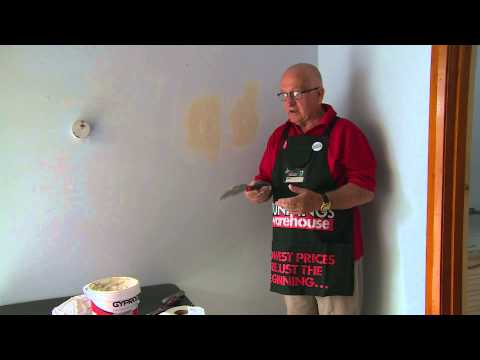 How To Repair A Hole In A Plaster Wall - DIY At Bunnings