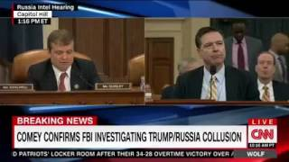 CNN: House Intelligence Committee Open Hearing on Russia (Pt. 1)