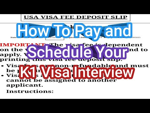 HOW TO PAY AND SCHEDULE YOUR K1 VISA INTERVIEW 2019 (TAGALOG) | TEAM TAYLOR CHANNEL
