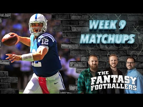 Fantasy Football 2016 - Week 9 Matchups, Election Results, In-or-Out - Ep. #301