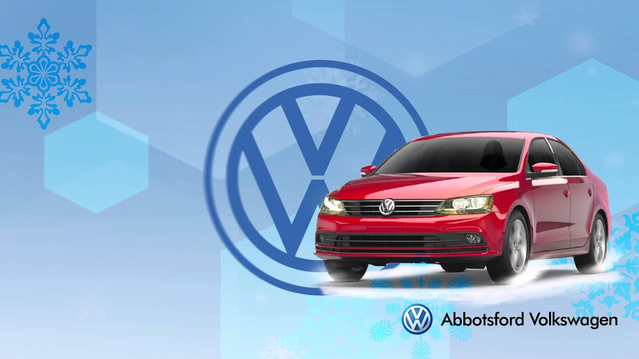 A Winter-Ready Offer from Abbotsford Volkswagen - YouTube