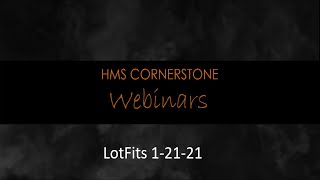 LotFits Webinar