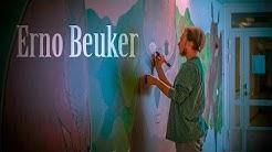 Savonlinnan työterveyshuollon seinämaalaus-projekti