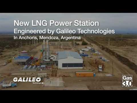 New LNG Power Station - Anchoris, Mendoza, Argentina