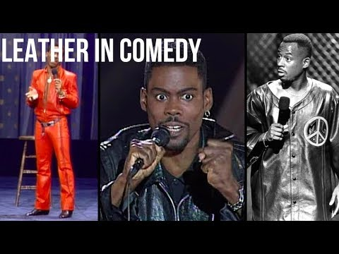 Why Black Comedians Wear Leather - Explained