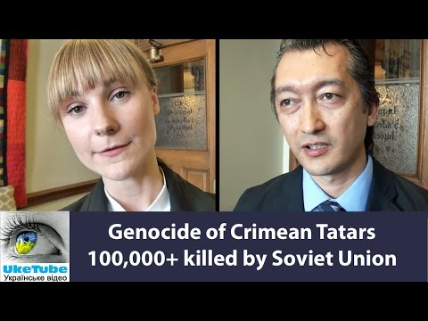 Jack Maclaren on 71st anniv of genocide, ethnic cleansing, deportation of Crimean Tatars
