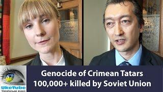 Jack Maclaren on 71st anniv of genocide, ethnic cleansing, deportation of Crimean Tatars