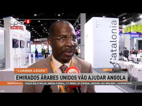 Luanda Leaks   Emirados Árabes Unidos vão ajudar Angola