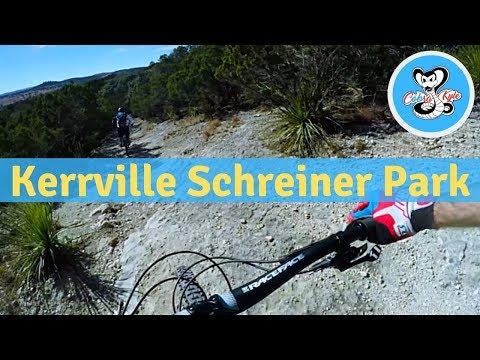 Mountain Biking Kerrville Schreiner Park!