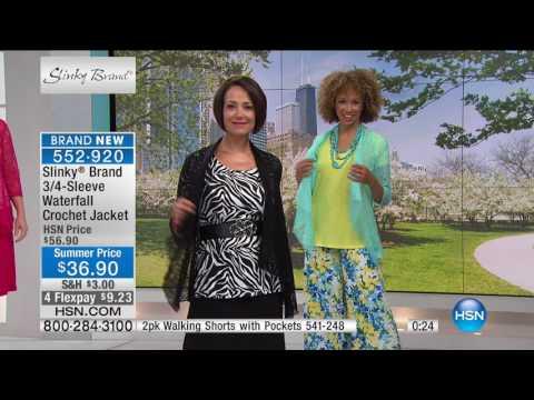 HSN | Slinky Brand Fashions 06.10.2017 - 06 AM