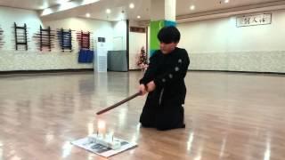 [해동검도] 상훈이의 촛불끄기 5개 도전