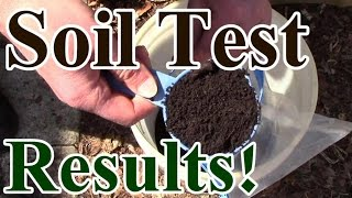 Soil Test Results! Are Compost, Worm Castings & Mulch Enough?