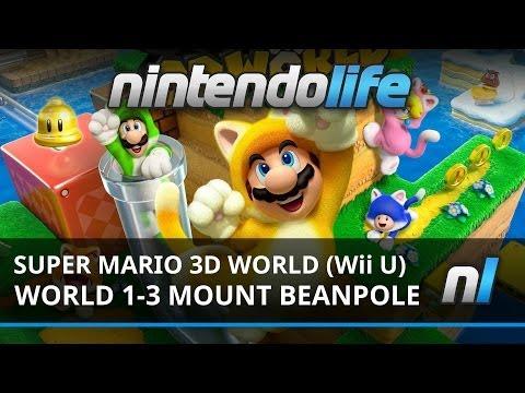Super Mario 3D World - World 2 boss battle - Super Mario 3D