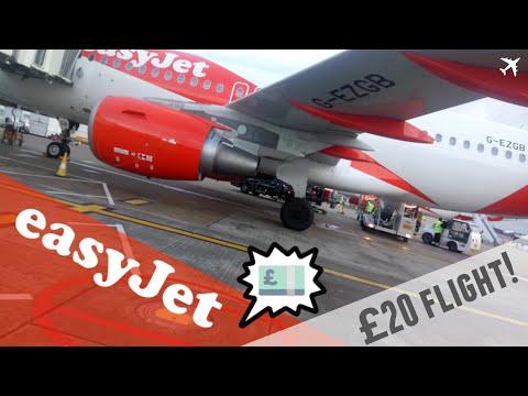 easyJet Airbus A319-111 | London Gatwick to Belfast International *Full Flight*