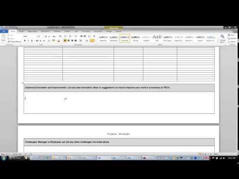 TRCA Performance Management Webinar