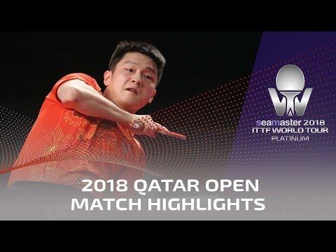2018 Qatar Open Highlights I Fan Zhendong vs Hugo Calderano (Final)