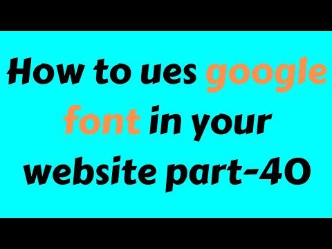 CSS3 Beginner Tutorial 2019 Bangla Part 40 google fonts thumbnail