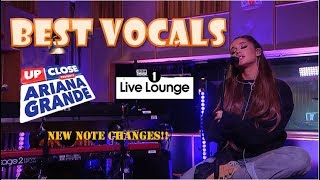 Vocal Showcase: Ariana Grande at the Live Lounge + Capital Up Close