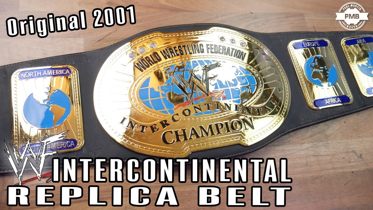 WWF Oval Intercontinental Replica Belt Unboxing & Review